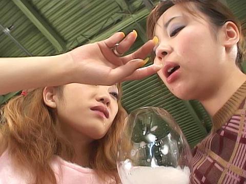 レズビアンキッス女優多数 無修正画像06