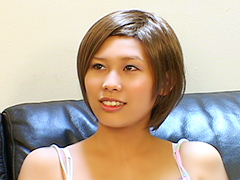 ショートカットが可愛い感度抜群淫乱娘沢井奈々