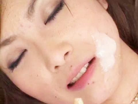 舌業炸裂極上フェラ桜井梨花 無修正画像12